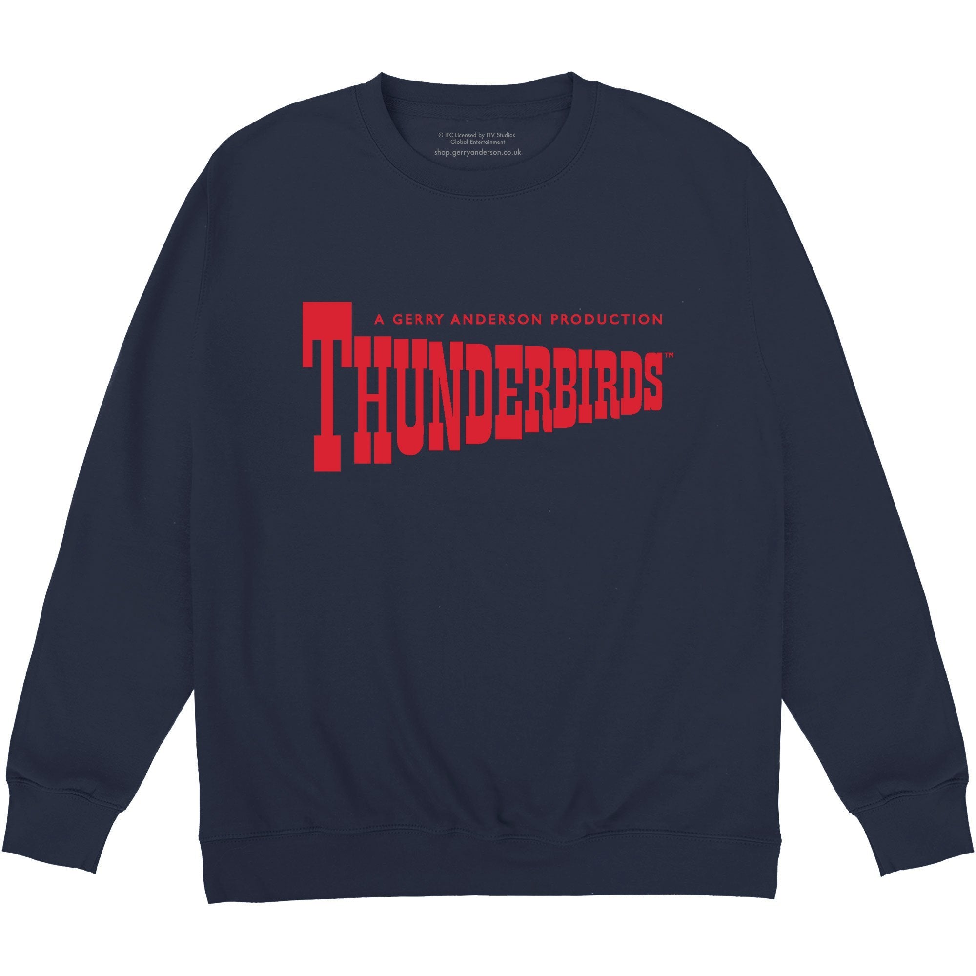 Thunderbirds Classic Logo Sweatshirt [Official & Exclusive] - The Gerry Anderson Store