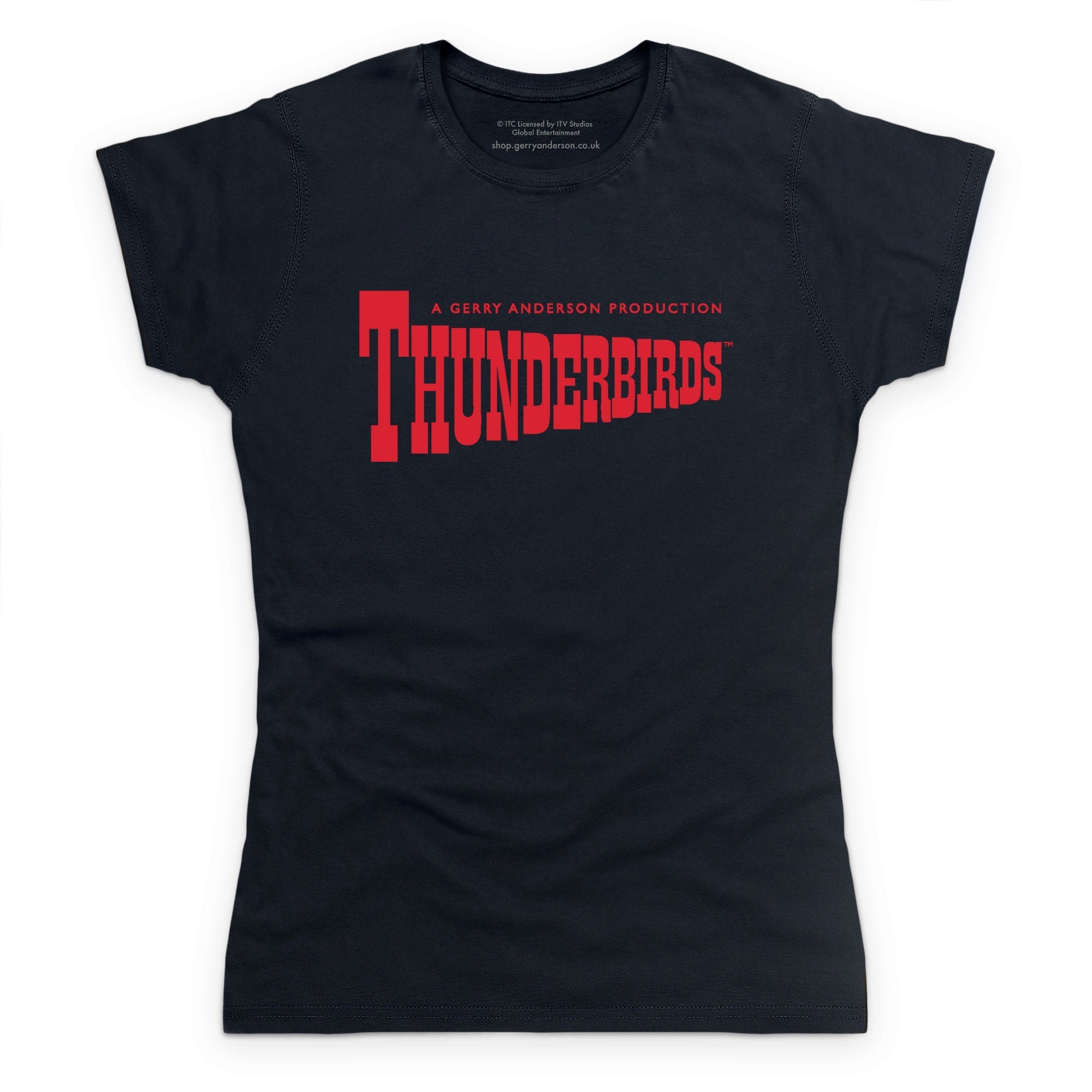 Thunderbirds Classic Logo Women's T-Shirt [Official & Exclusive] - The Gerry Anderson Store