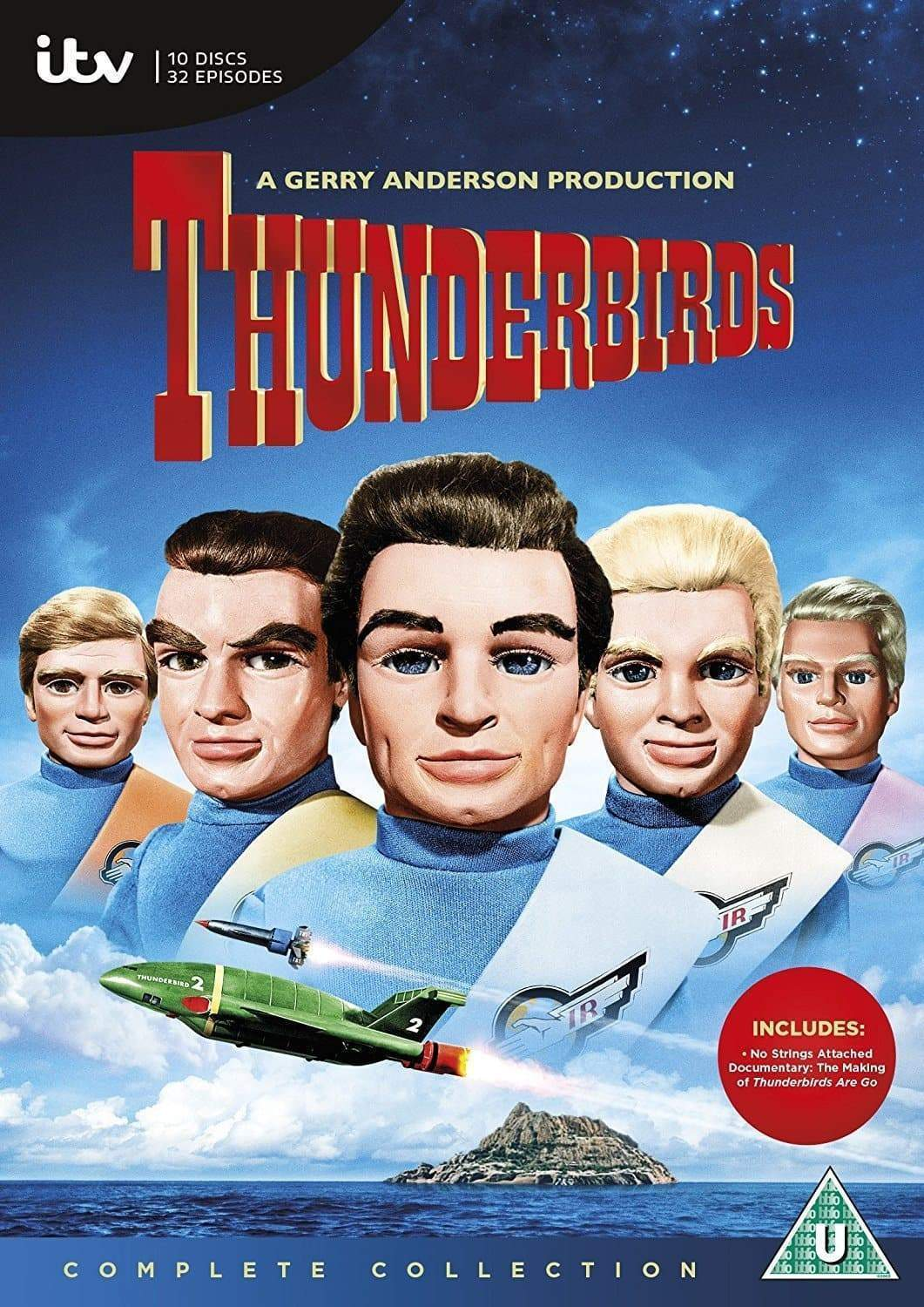 Thunderbirds [DVD] (Region 2) - The Gerry Anderson Store
