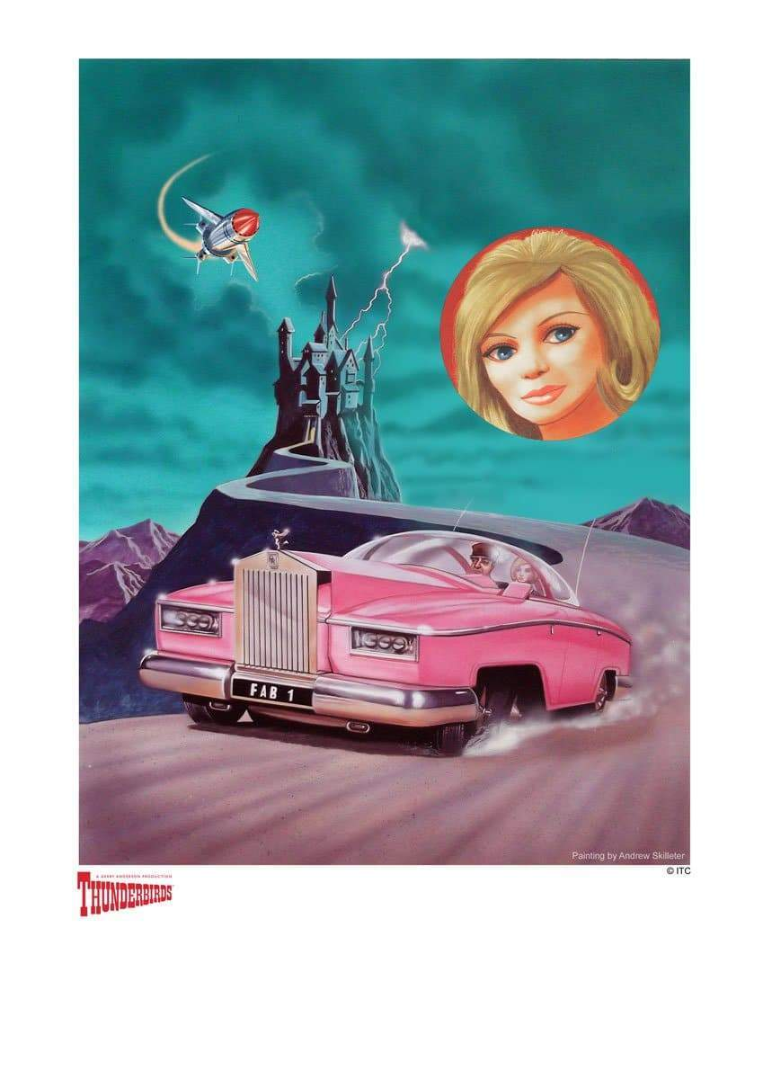 Thunderbirds : Escape! Artist Signed Print (Official & Exclusive] - The Gerry Anderson Store