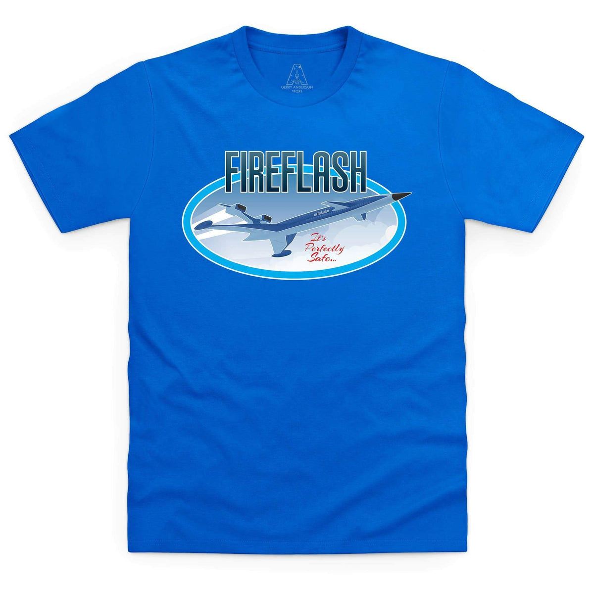 Thunderbirds Fireflash Men's T-Shirt [Official & Exclusive] - The Gerry Anderson Store
