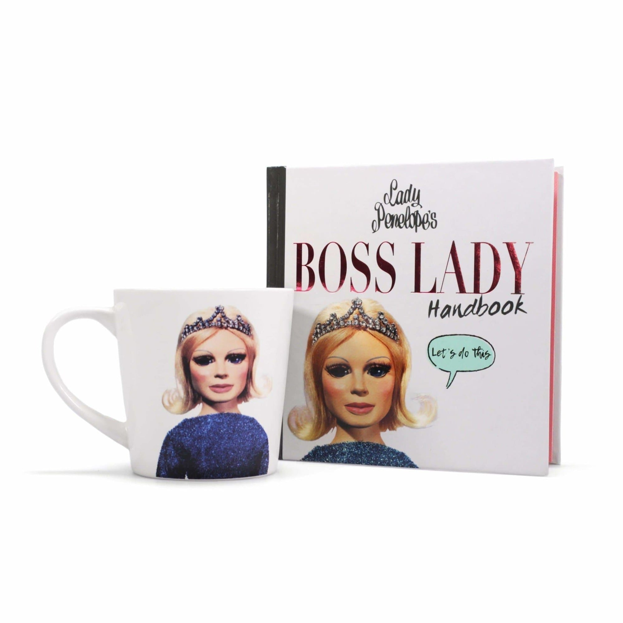 Thunderbirds Lady Penelope Book & Mug Gift Set - The Gerry Anderson Store