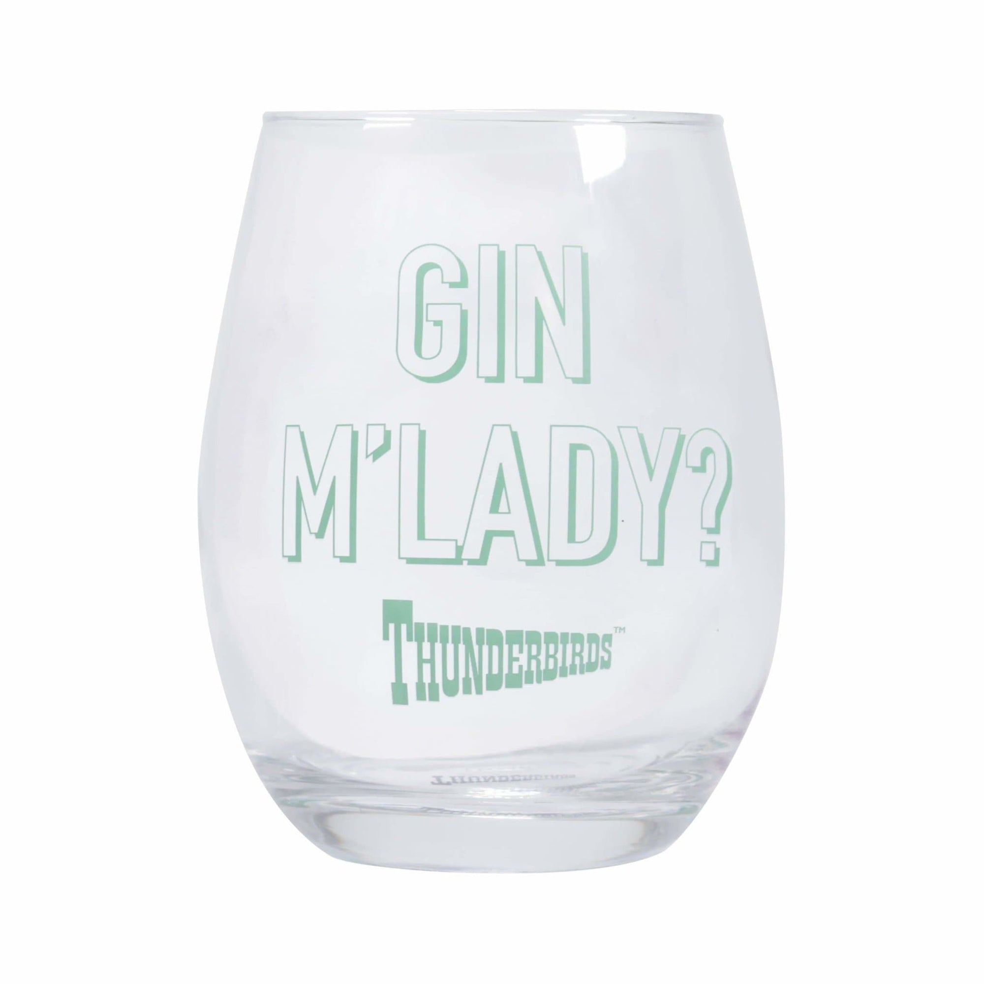 Thunderbirds Lady Penelope Glass Tumbler - The Gerry Anderson Store
