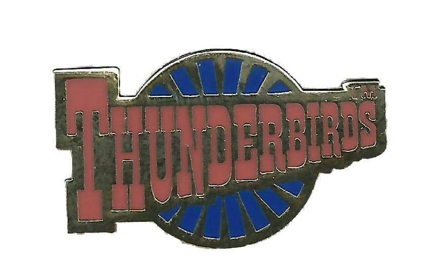 Thunderbirds Logo Enamel Roundel Pin Badge - The Gerry Anderson Store