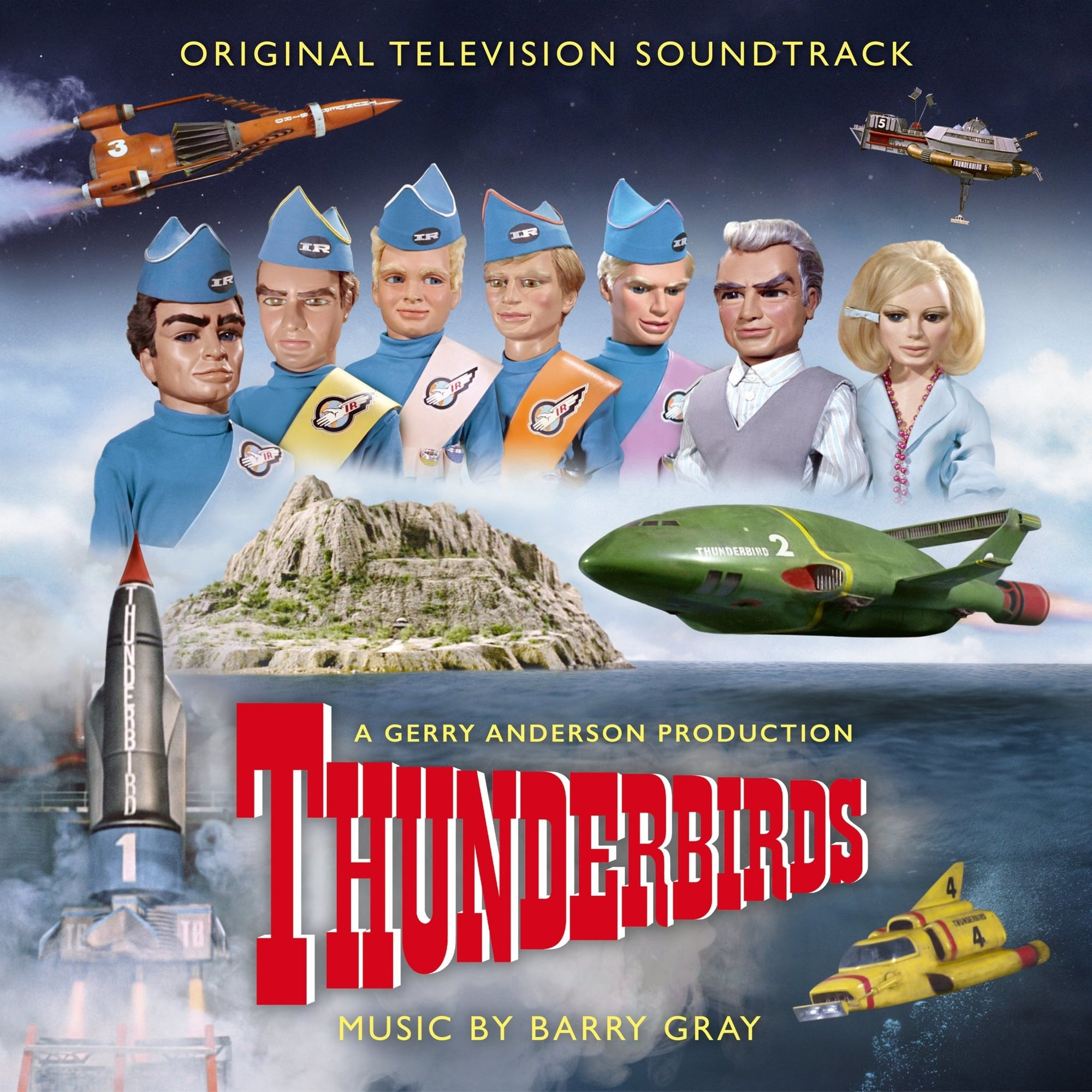 Thunderbirds: Original TV Soundtrack (CD) - The Gerry Anderson Store
