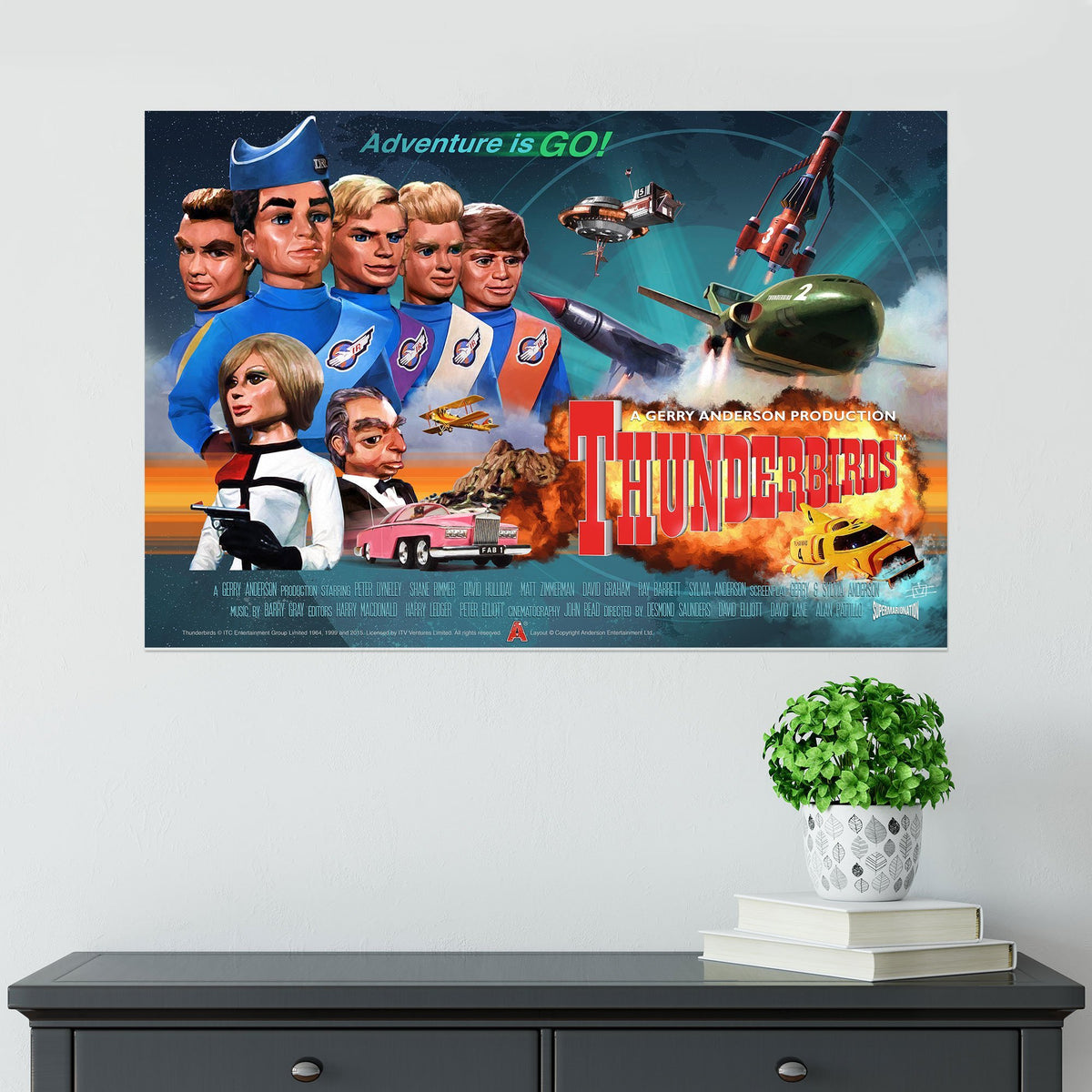 Thunderbirds Poster [Official and Exclusive] - The Gerry Anderson Store