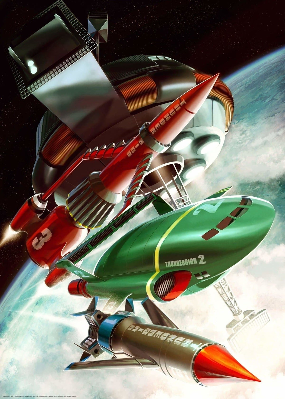 Thunderbirds Print by Jake Lynch - The Gerry Anderson Store