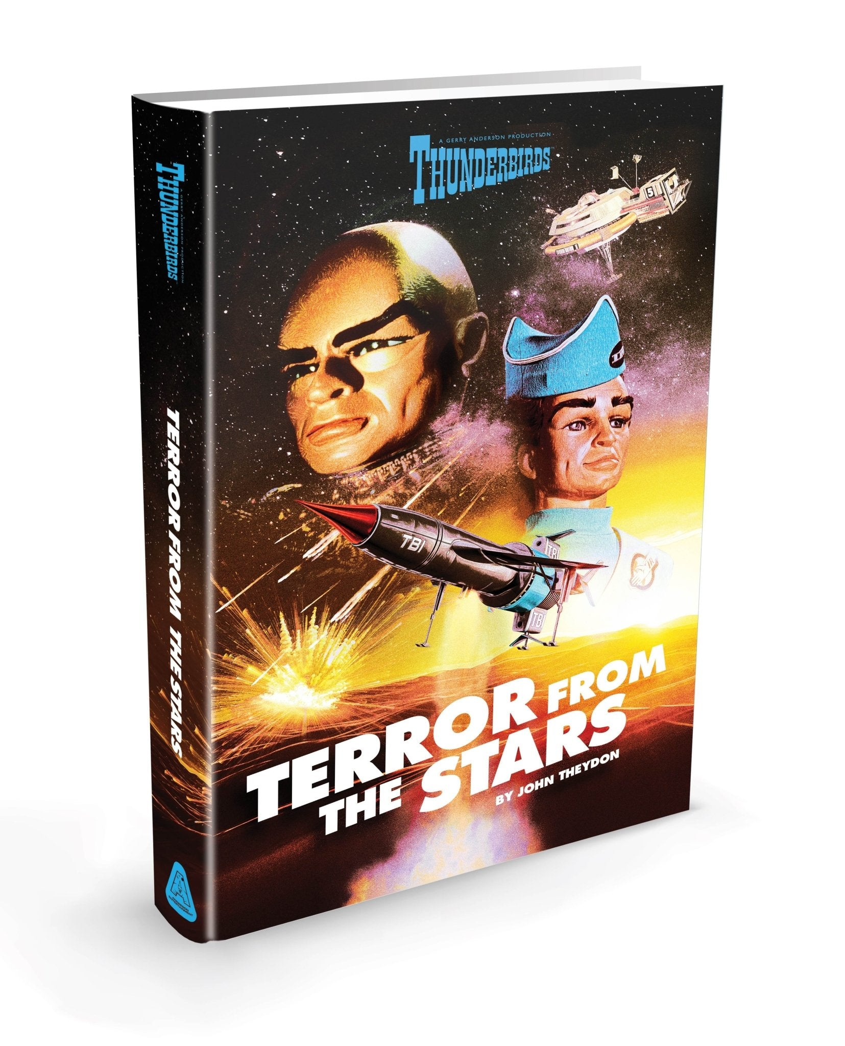 Thunderbirds: Terror from the Stars Hardback Book [Official & Exclusive] - The Gerry Anderson Store