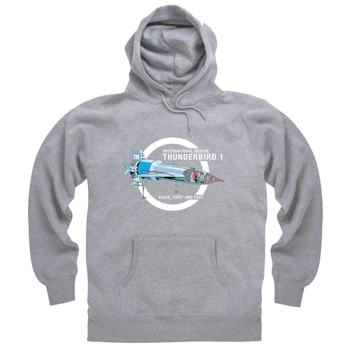 Thunderbirds: Thunderbird 1 Cutaway Hoodie [Official & Exclusive] - The Gerry Anderson Store