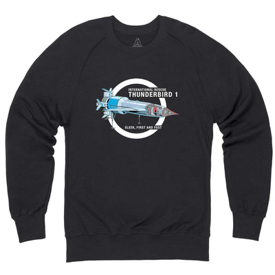 Thunderbirds: Thunderbird 1 Cutaway Sweatshirt [Official & Exclusive] - The Gerry Anderson Store