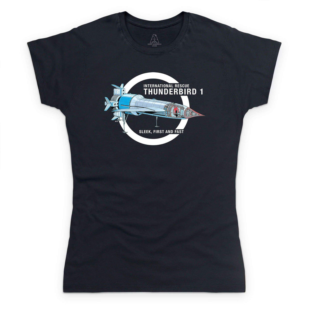 Thunderbirds: Thunderbird 1 Cutaway Women's T-Shirt [Official & Exclusive] - The Gerry Anderson Store