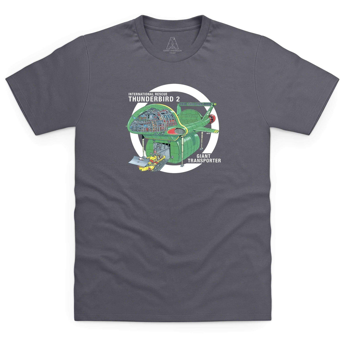 Thunderbirds: Thunderbird 2 Cutaway Men's T-Shirt [Official & Exclusive] - The Gerry Anderson Store