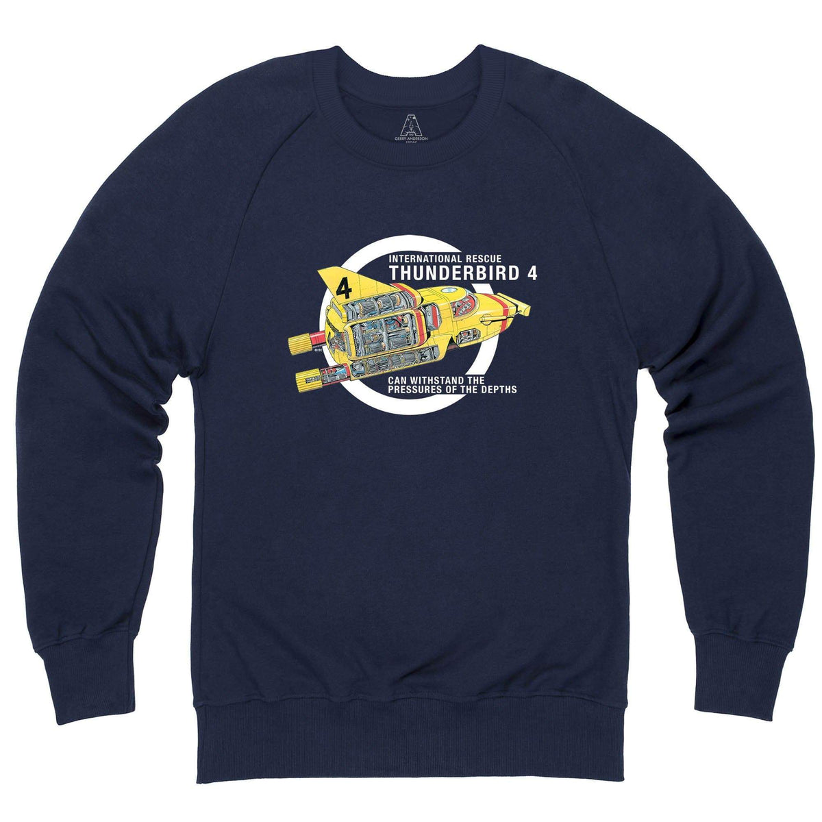 Thunderbirds: Thunderbird 4 Cutaway Sweatshirt [Official & Exclusive] - The Gerry Anderson Store