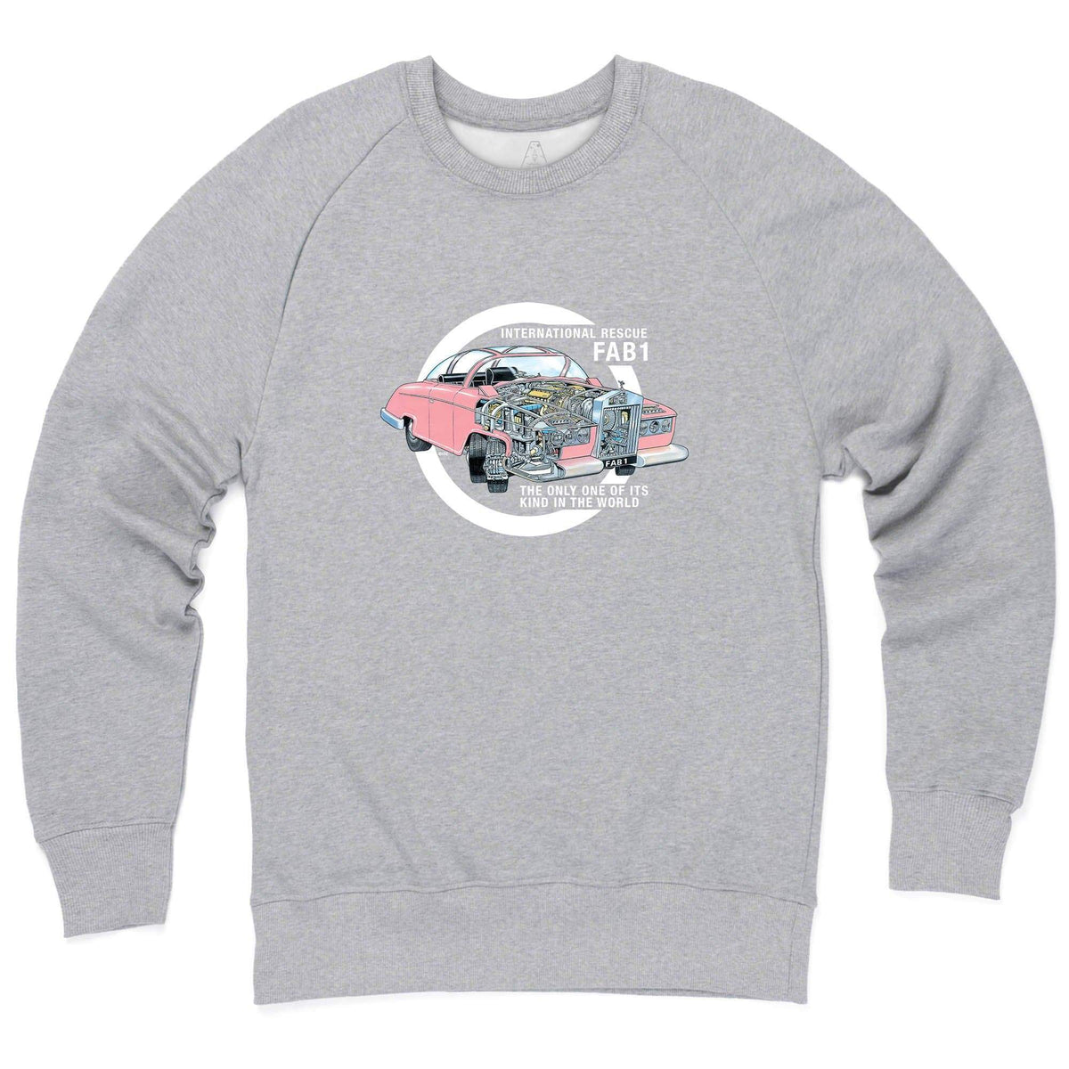 Thunderbirds: Thunderbird FAB 1 Cutaway Sweatshirt [Official & Exclusive] - The Gerry Anderson Store