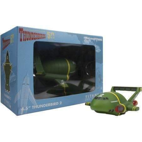 "Thunderbirds TITANS: 4.5"" Thunderbird 2 - The Gerry Anderson Store"