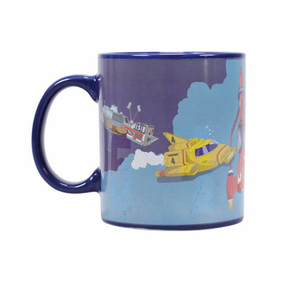 Thunderbirds Vehicles Heat Changing Mug - The Gerry Anderson Store