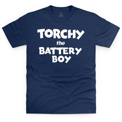 Torchy Logo T-Shirt [Official & Exclusive] (Kid's, Men's and Women's sizes) - The Gerry Anderson Store