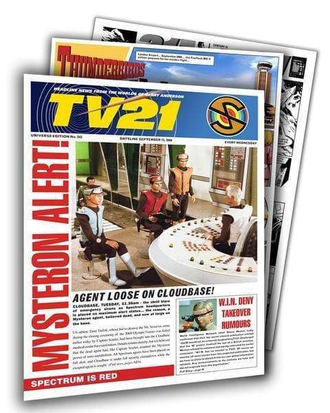TV21 Special Edition – Universe Edition #243 - The Gerry Anderson Store