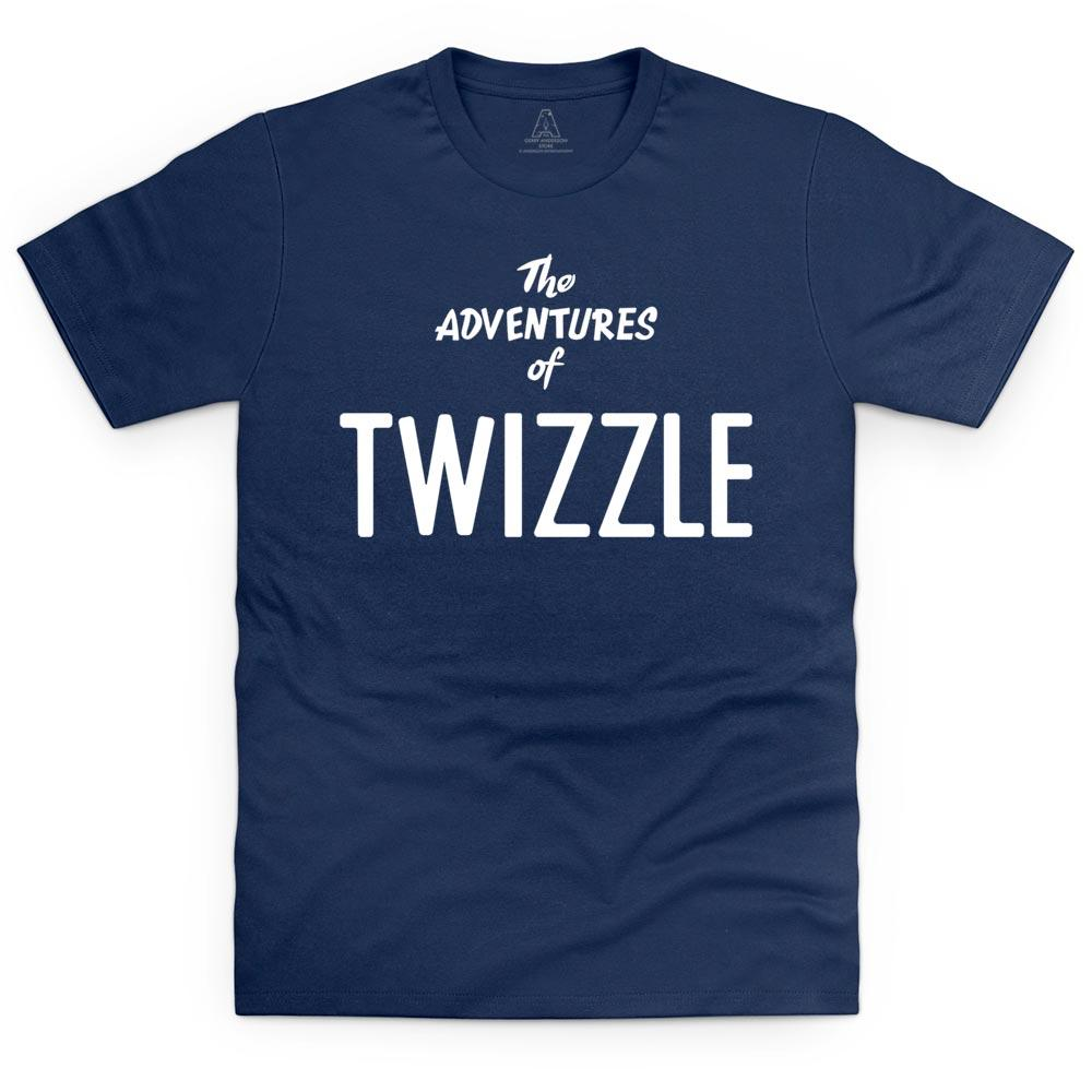 Twizzle Logo T-Shirt [Official & Exclusive] (Kid's, Men's and Women's sizes) - The Gerry Anderson Store