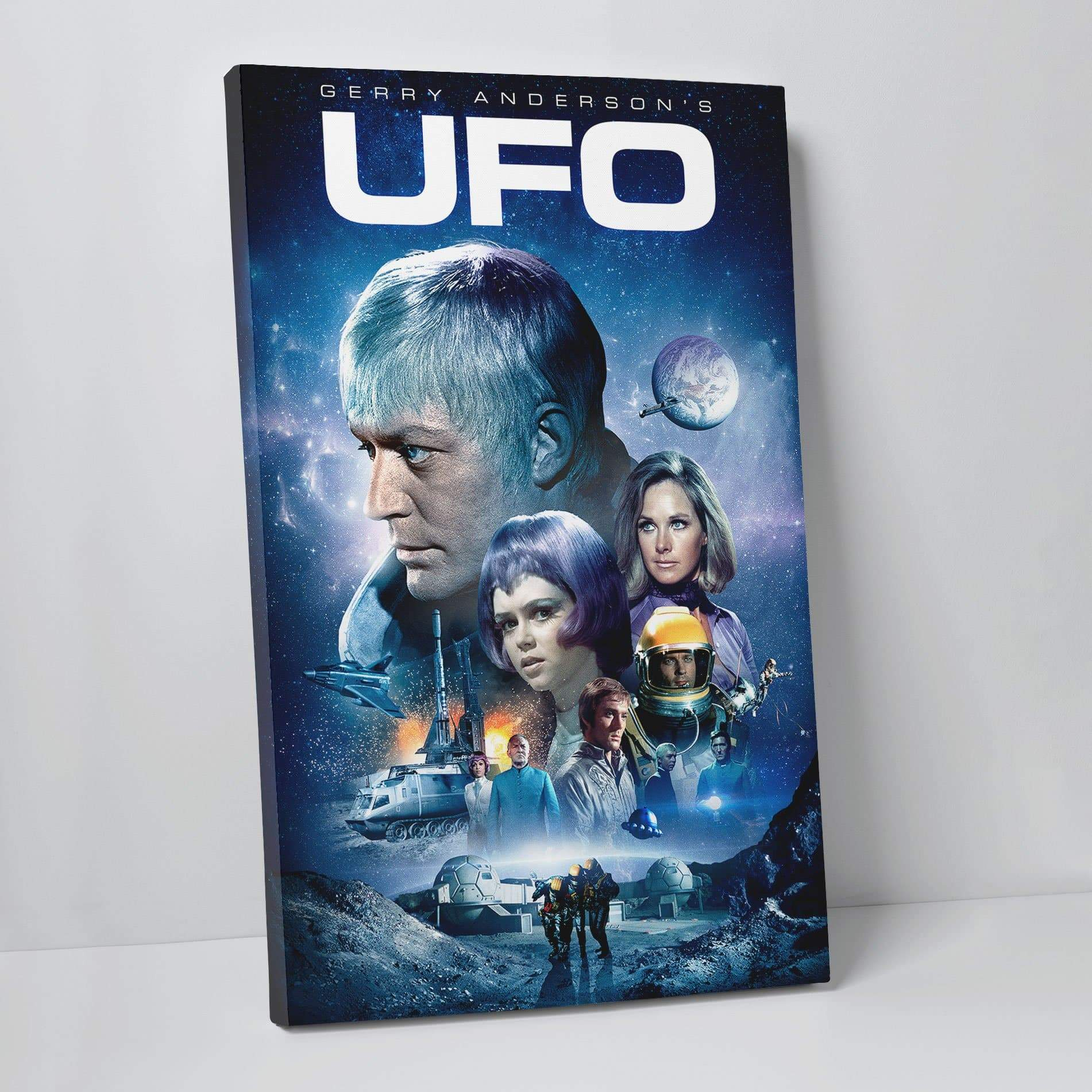 UFO Canvas Print [Official & Exclusive] - The Gerry Anderson Store