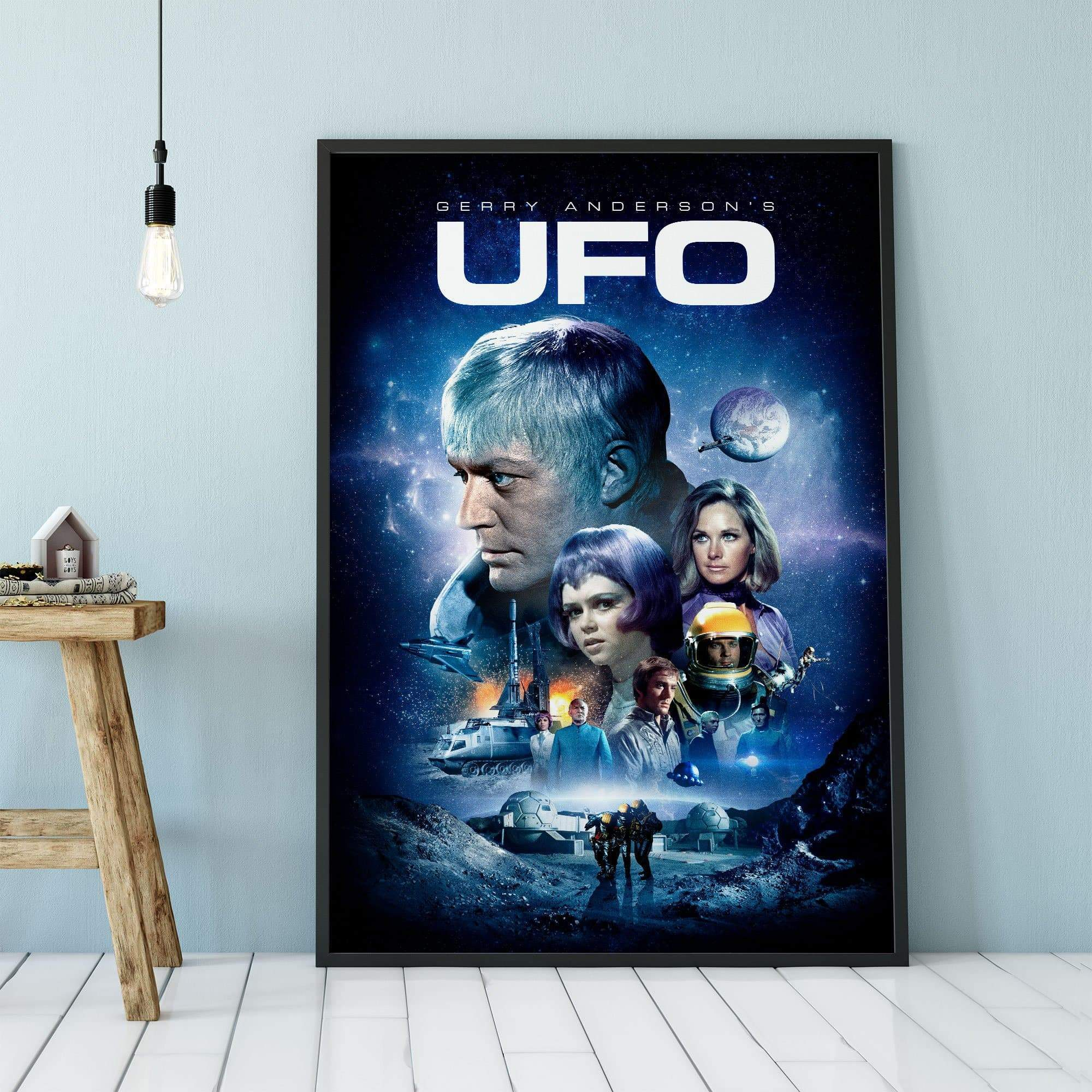 UFO Framed Print [Official & Exclusive] - The Gerry Anderson Store