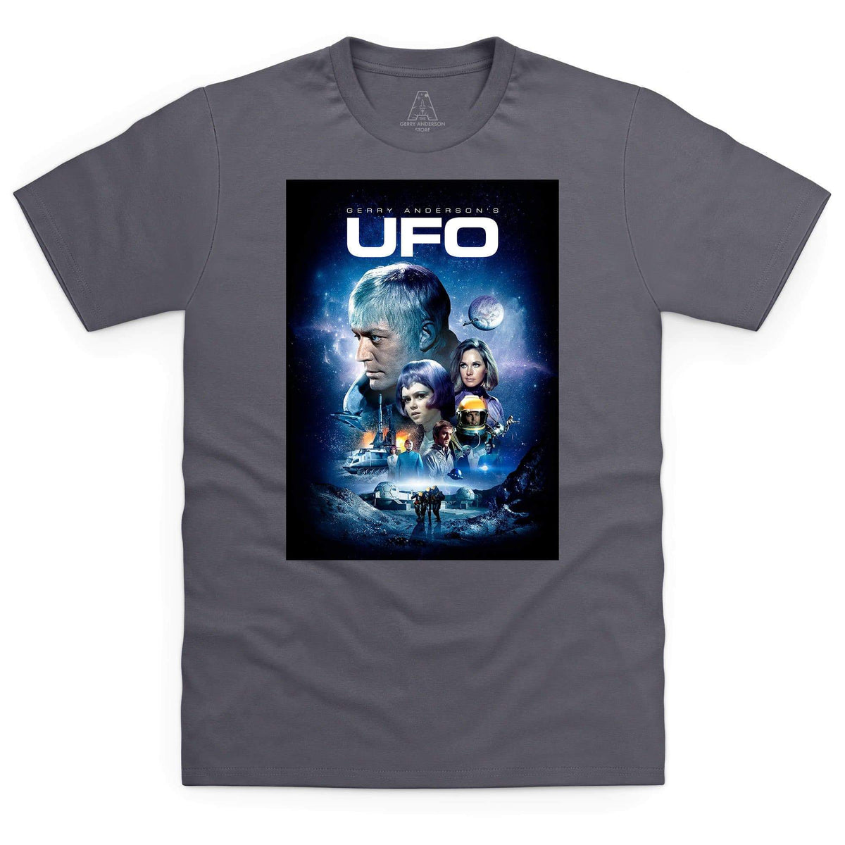 UFO Men's T-Shirt [Official & Exclusive] - The Gerry Anderson Store