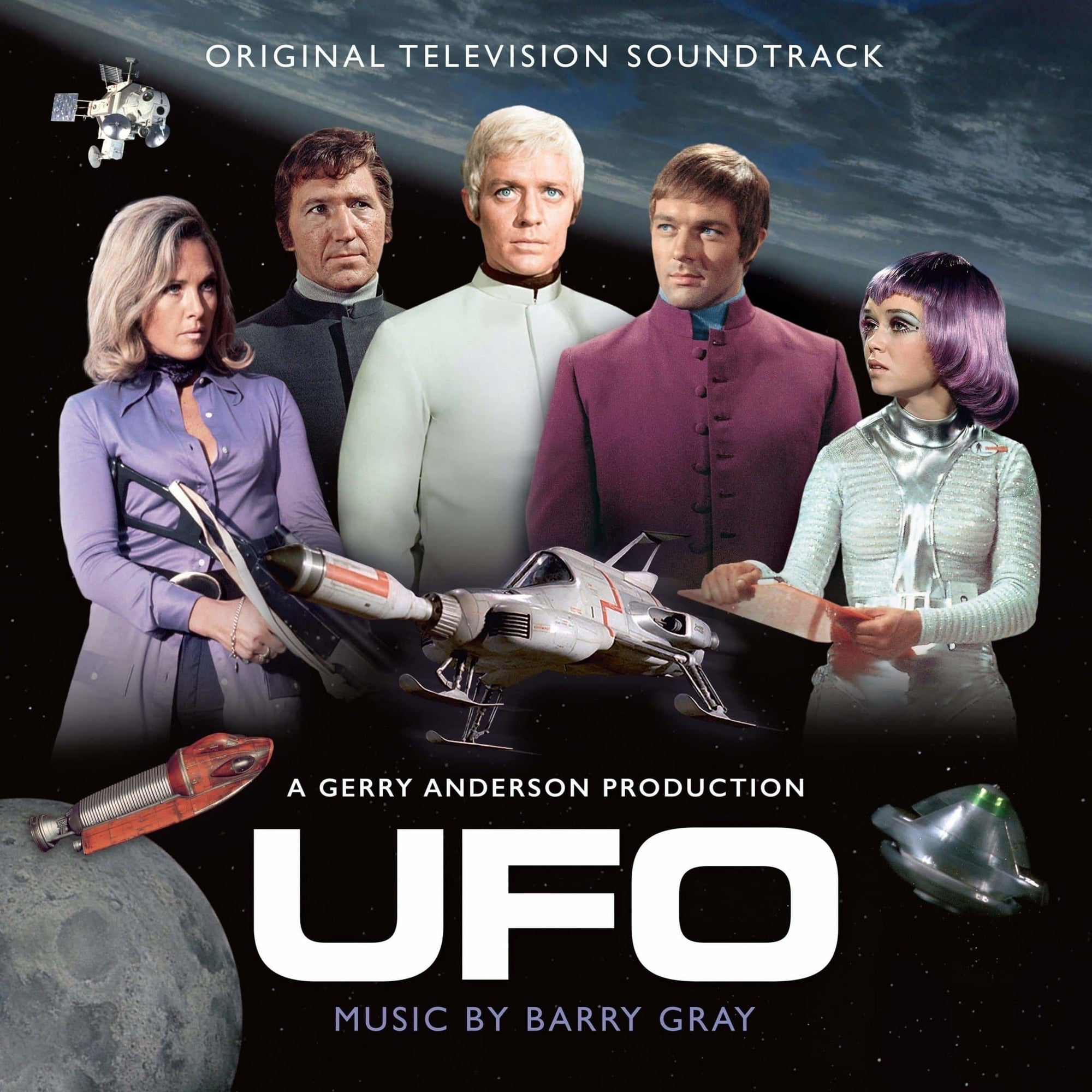 UFO: Original TV Soundtrack (CD) - The Gerry Anderson Store