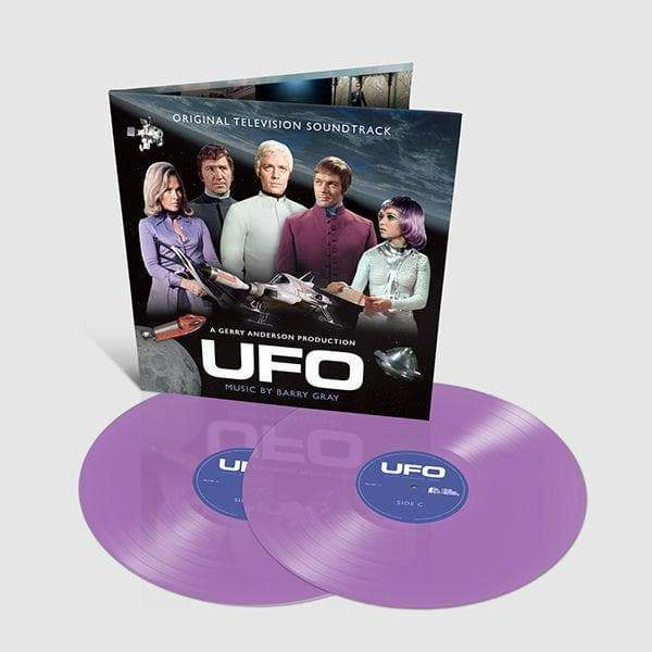 UFO: Original TV Soundtrack: Limited Edition Coloured Vinyl (LP) - The Gerry Anderson Store