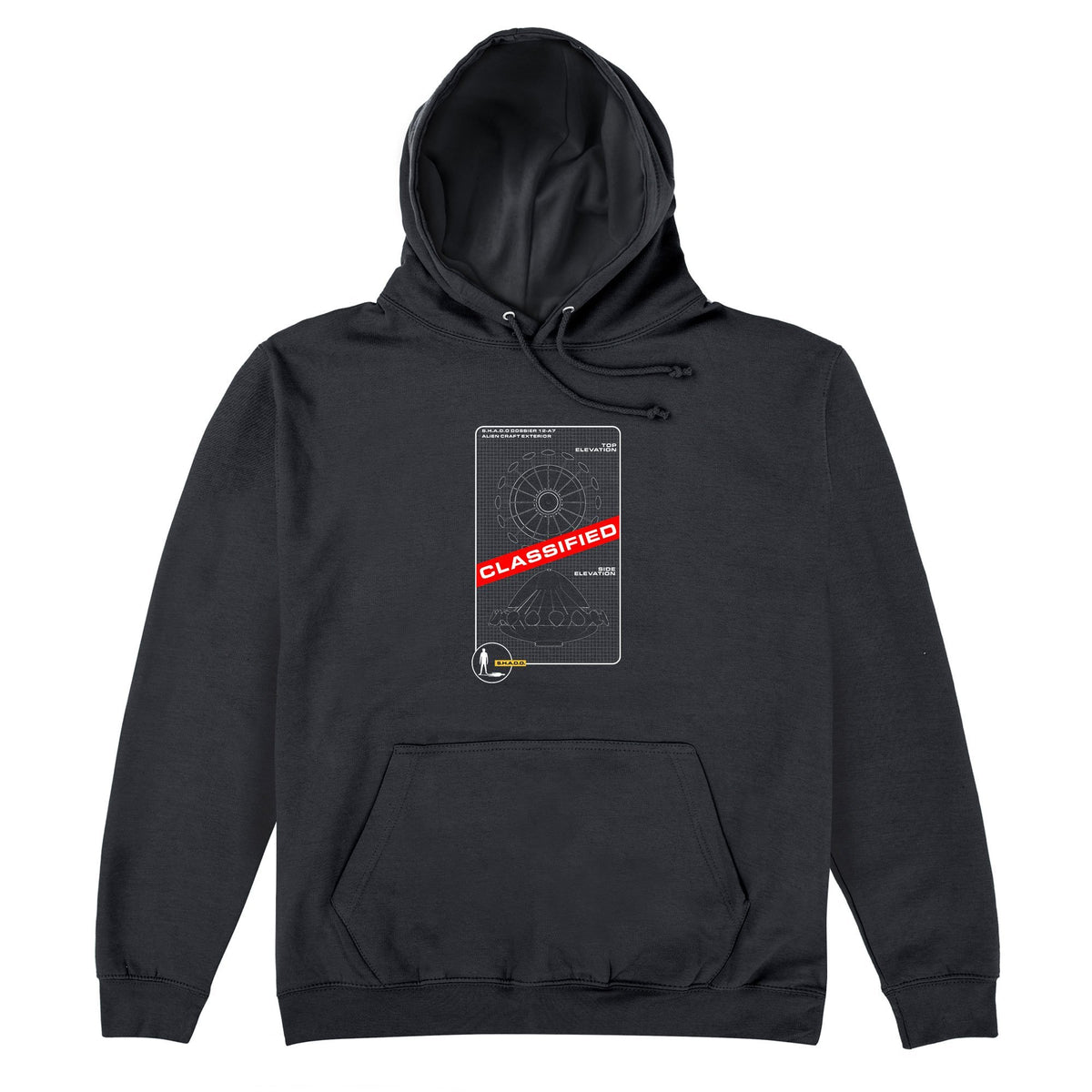 UFO Schematic Hoodie [Official & Exclusive] - The Gerry Anderson Store