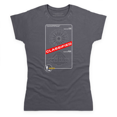 UFO Schematic Women's T-Shirt [Official & Exclusive] - The Gerry Anderson Store