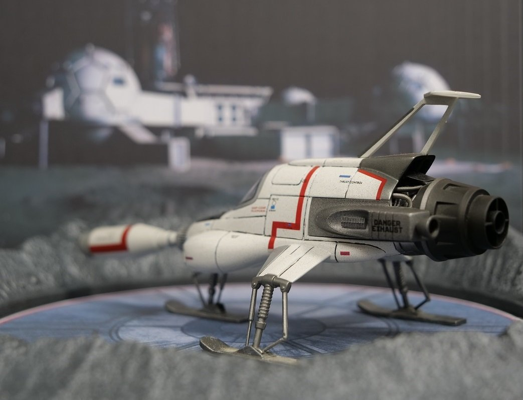 UFO SHADO Interceptor With Launch Crater Display - The Gerry Anderson Store