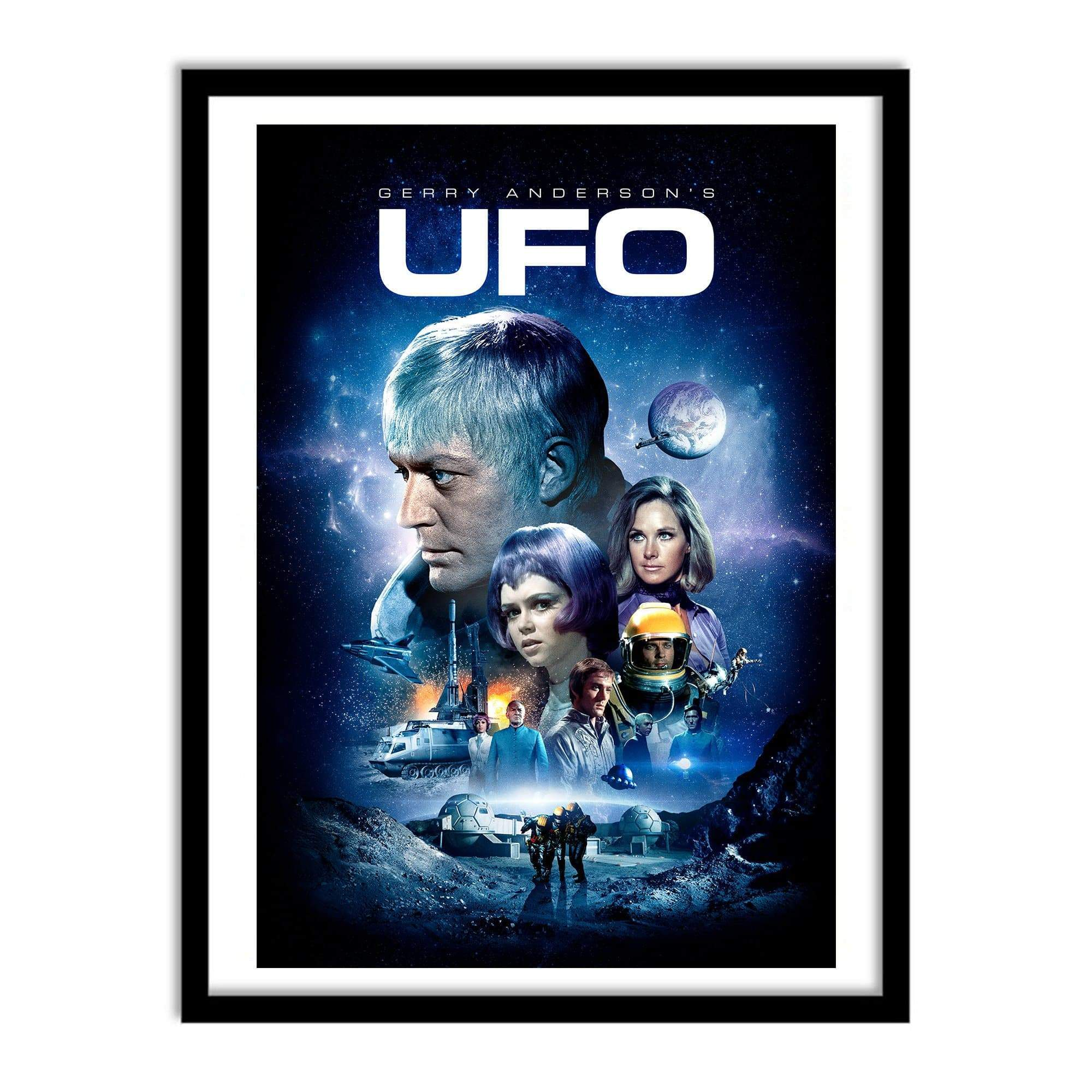 UFO Small Poster [Official & Exclusive] - The Gerry Anderson Store