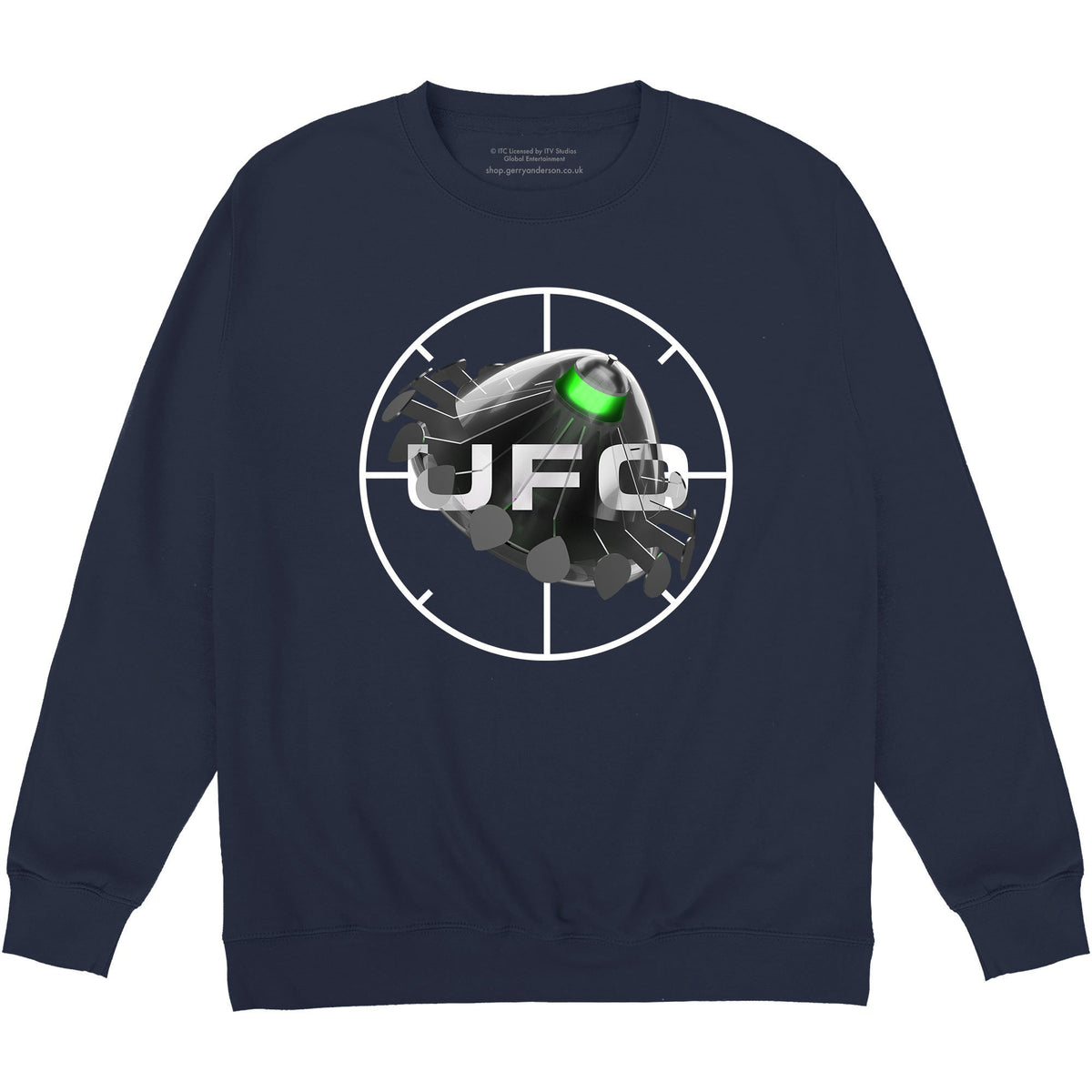 UFO Target Sweatshirt [Official & Exclusive] - The Gerry Anderson Store