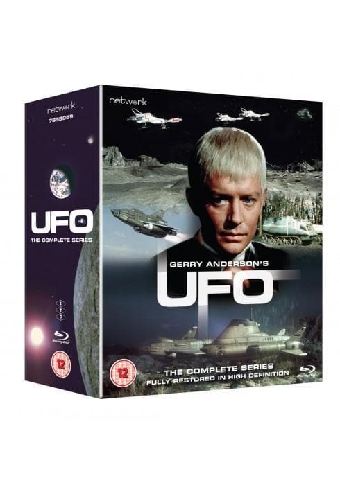UFO – The Complete Series on Blu-ray plus exclusive postcards - Available Now - Gerry Anderson Official - 1