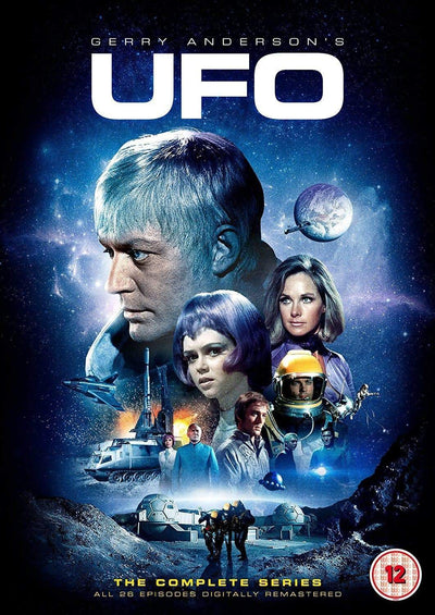 UFO The Complete Series [DVD] (2018 Edition/Region 2) - The Gerry Anderson Store