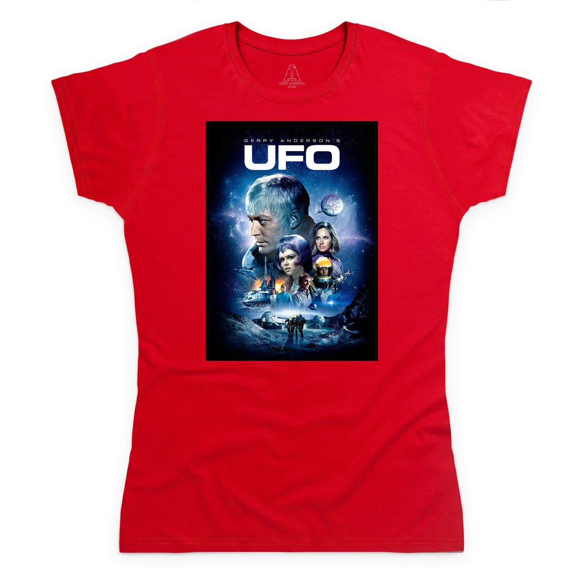 UFO Women's T-Shirt [Official & Exclusive] - The Gerry Anderson Store