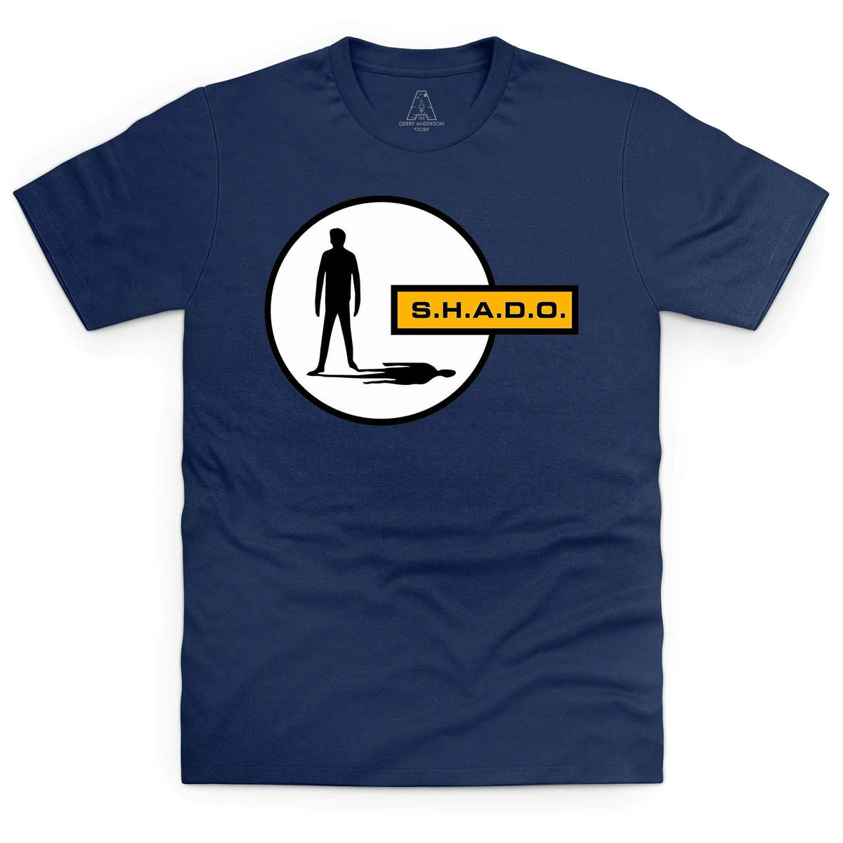 UFO/SHADO Logo Men's T-Shirt [Official & Exclusive] - The Gerry Anderson Store