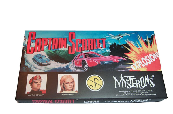 Captain Scarlet Board Game - Gerry Anderson Official - 1