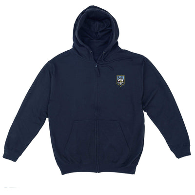 WASP Men's Zipped Hoodie with Embroidery [Official & Exclusive] - The Gerry Anderson Store
