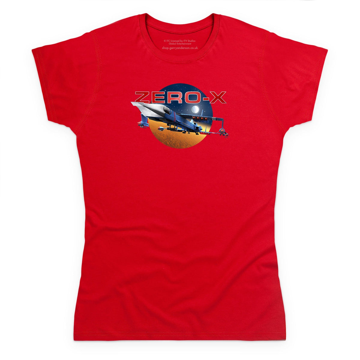 Zero-X Women's T-Shirt [Official & Exclusive] - The Gerry Anderson Store