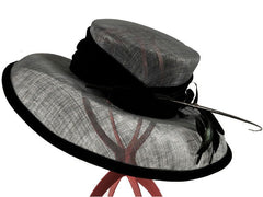 For Hat Hire 'Millie' call 01453808201, email heidi@hatborrower.com or visit www.hatborrower.com