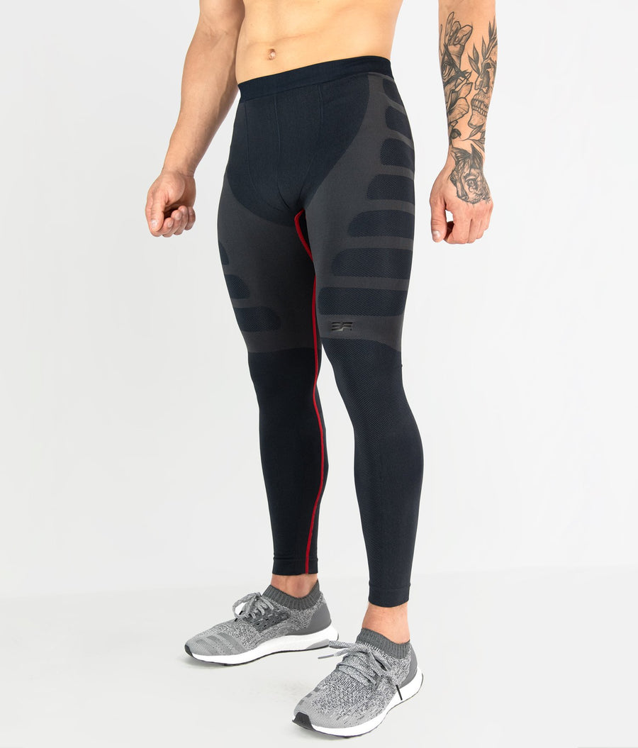 Seamless Tights - Black - EVERFIT