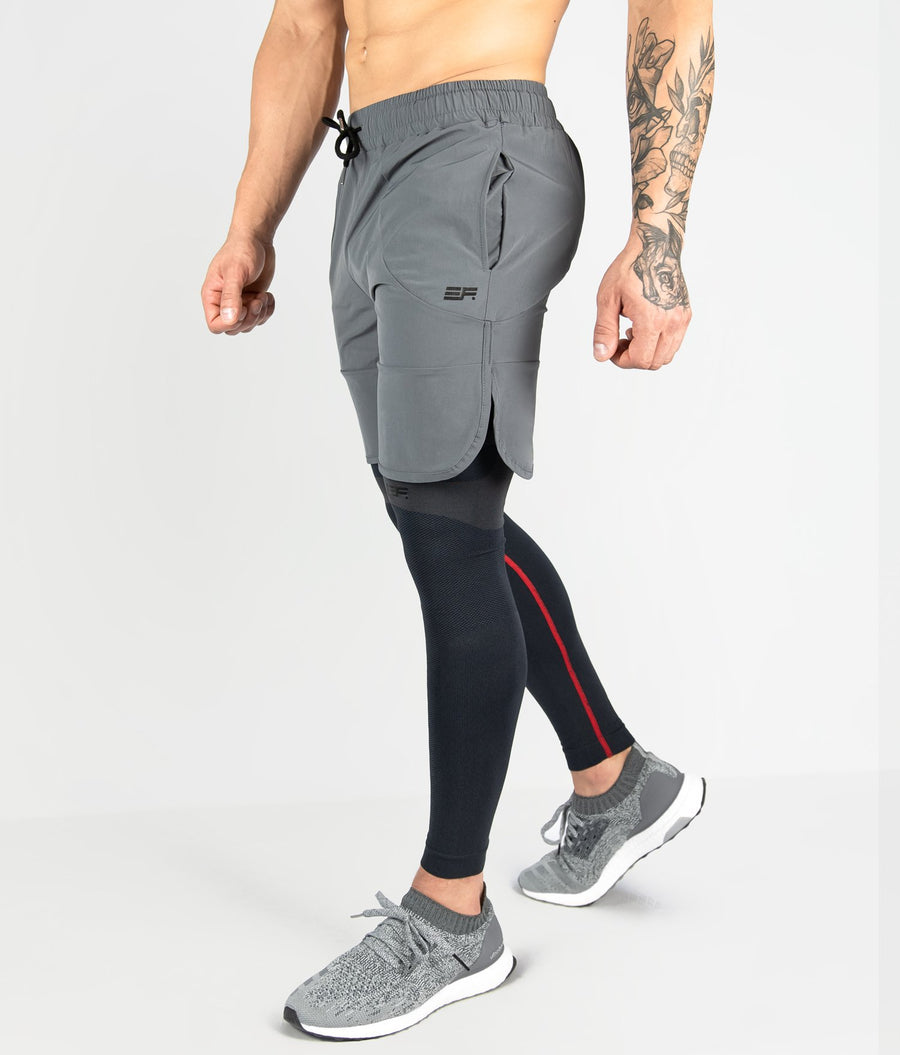 Contour Shorts - Dark Grey - EVERFIT
