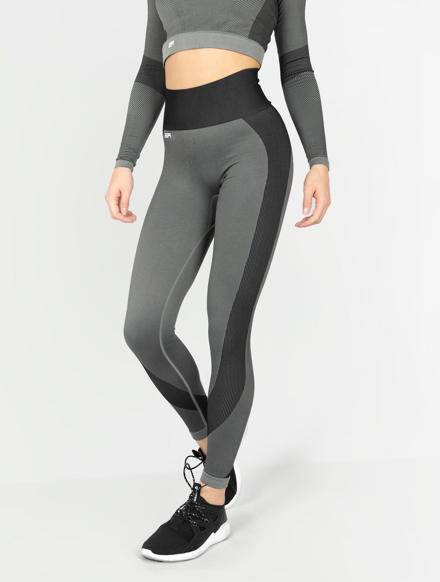 EVER FIT Leggings - Dark Grey - EVERFIT