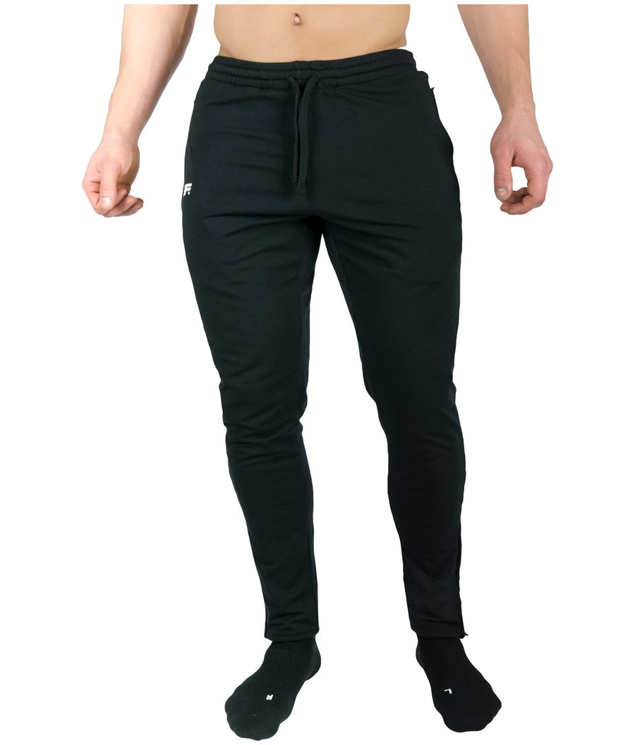 AGILE JOGGERS BLACK - EVERFIT