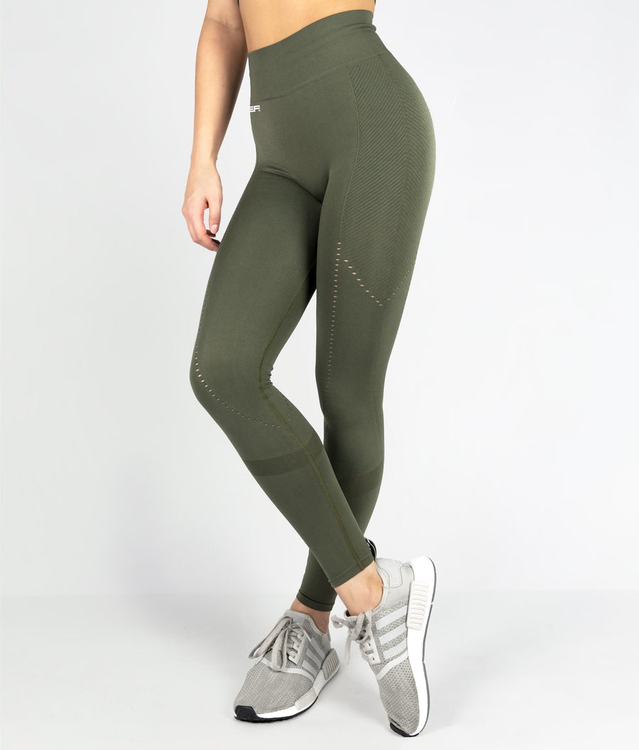 Structure Leggings - Khaki - EVERFIT