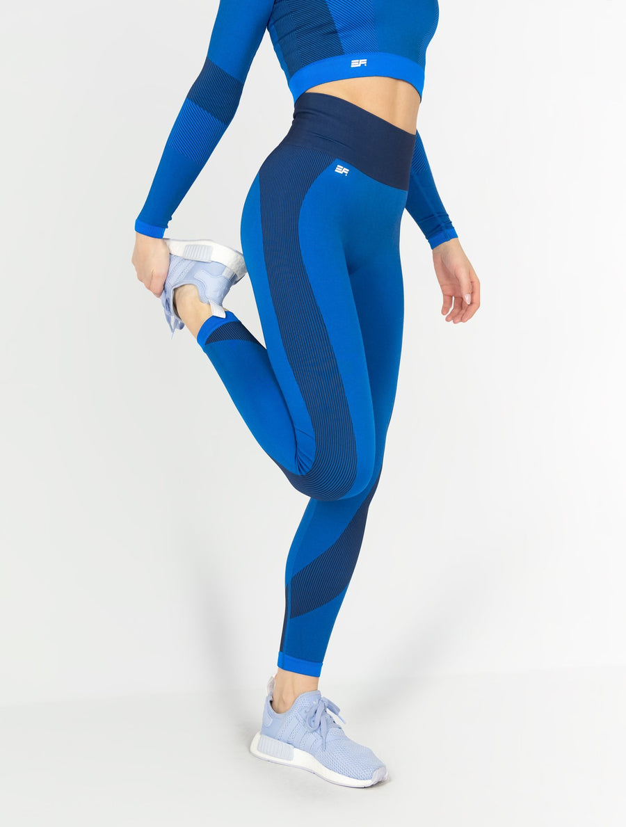 EVER FIT Leggings - Cobalt Blue - EVERFIT