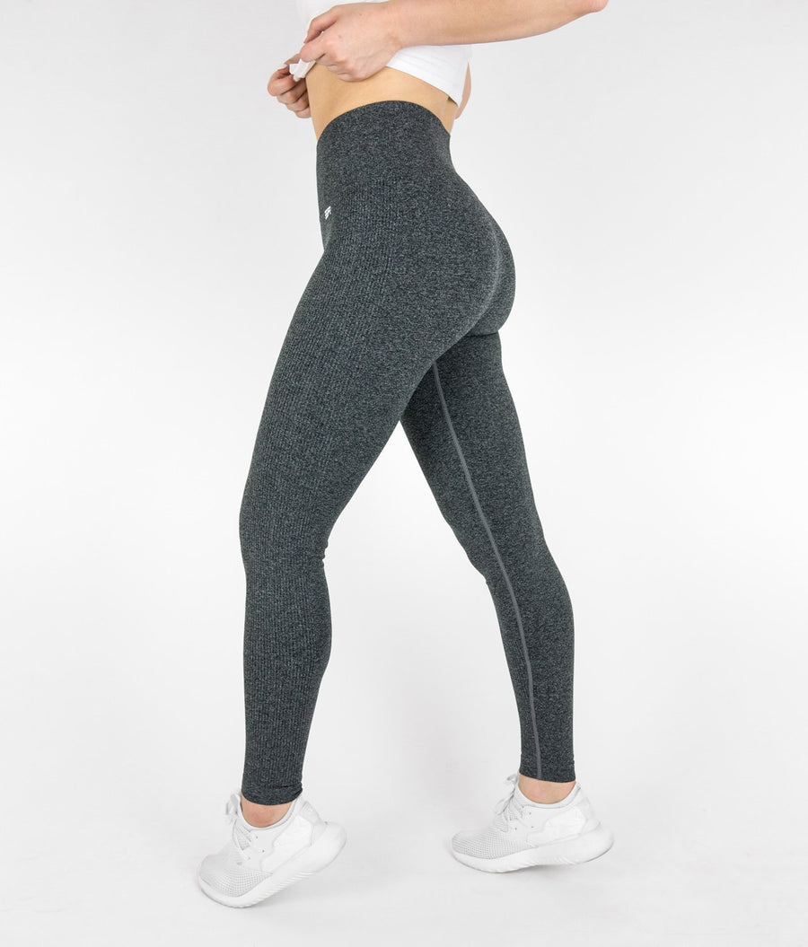Streak Leggings - Charcoal Grey - EVERFIT