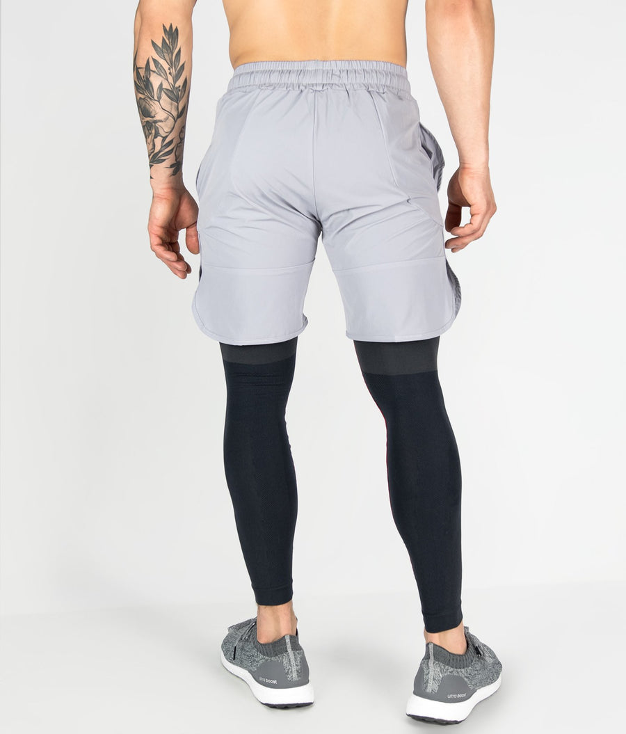 Contour Shorts - Light Grey - EVERFIT