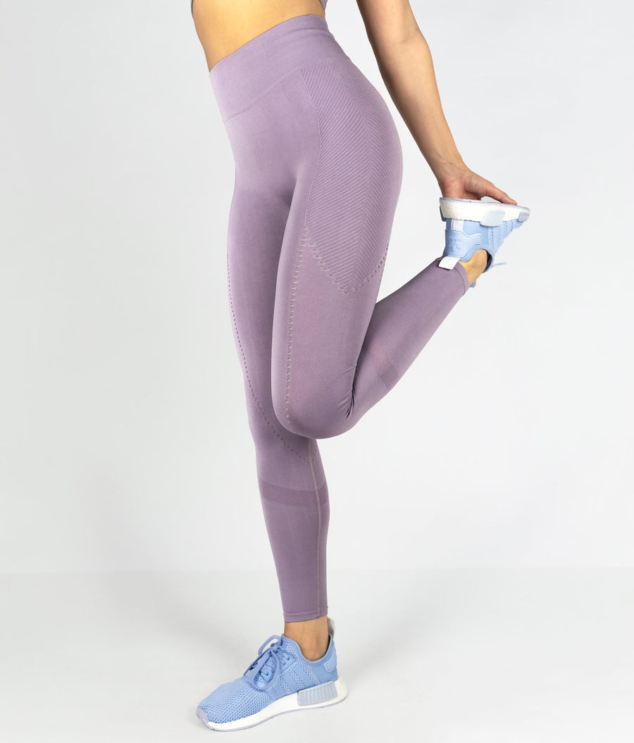 Structure Leggings - Lilac - EVERFIT
